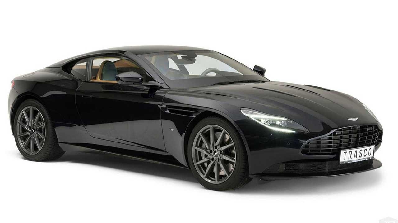 Armored Aston Martin DB11