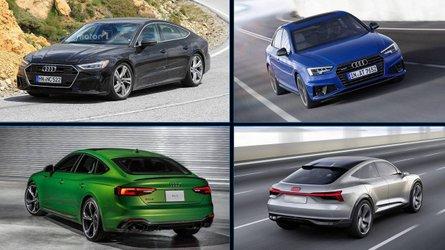 10 neue Audi-Modelle für 2019: Totale Offensive