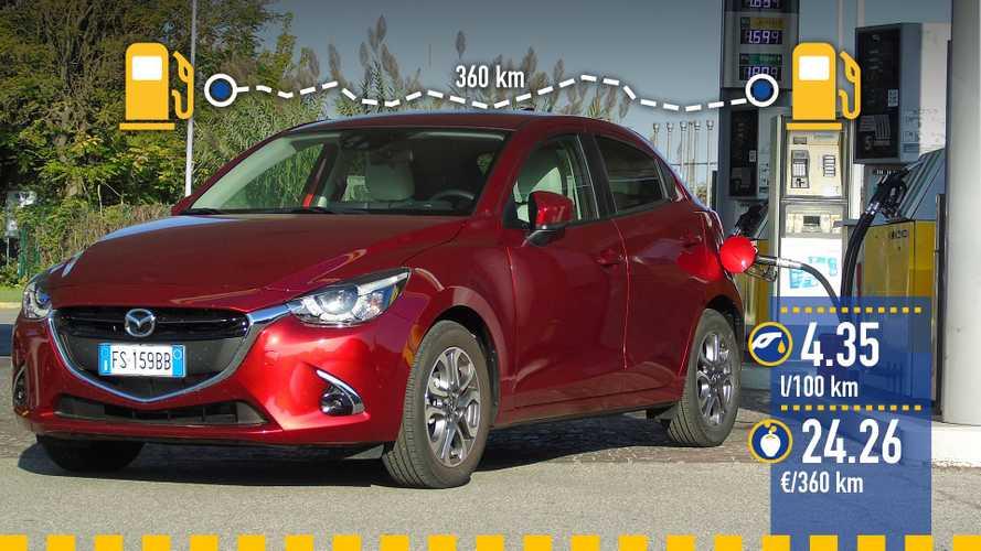 Mazda2 1.5 SKYACTIV-G 90 2018: prueba de consumo real