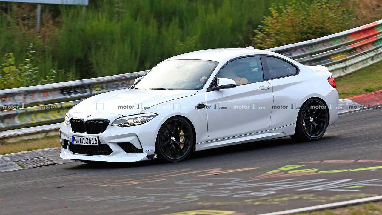 Fotos espía BMW M2 CS/CSL 2019