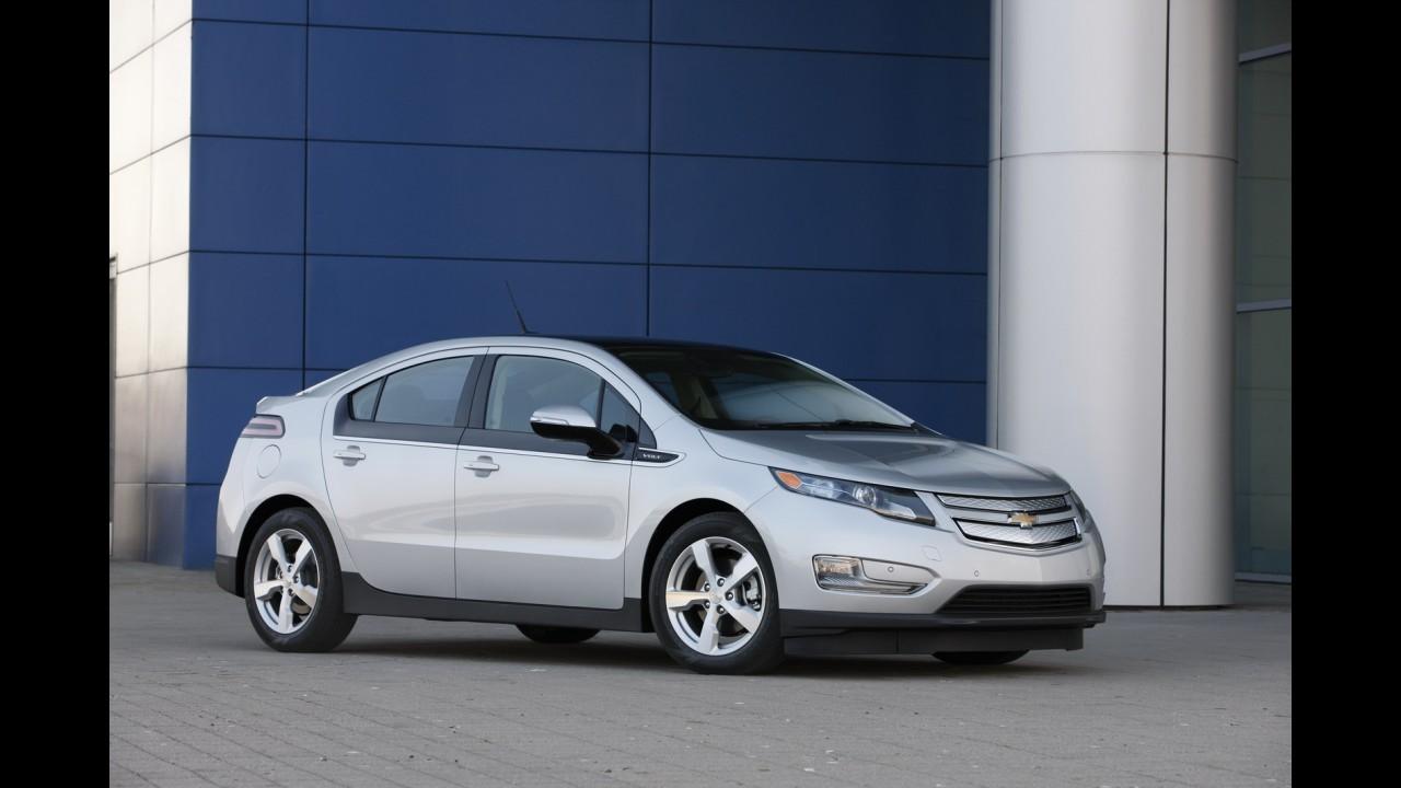 Chevrolet paralisa temporariamente produção do Volt para regular estoques