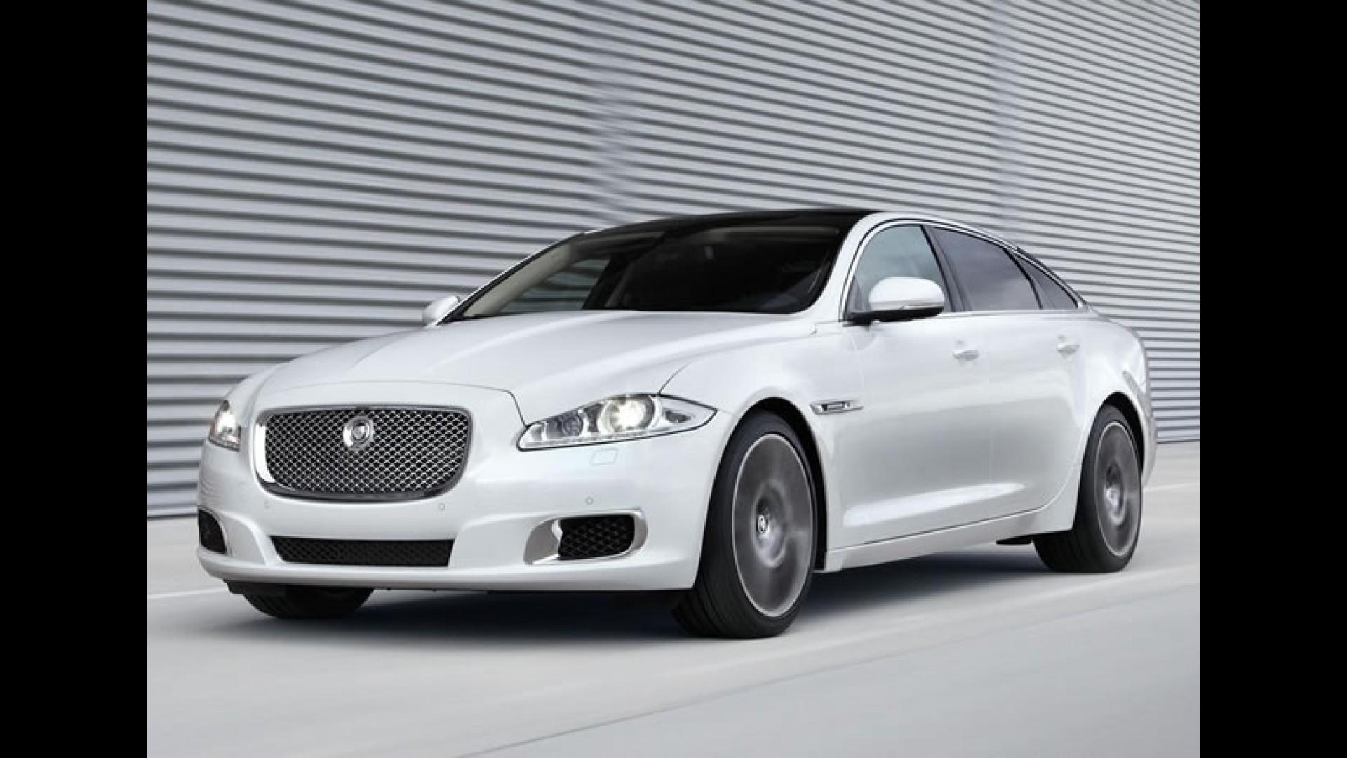 Salão De Pequim: Jaguar XJ Ultimate 2013   O Mais Luxuoso Da Linha Ganha  Novos Itens
