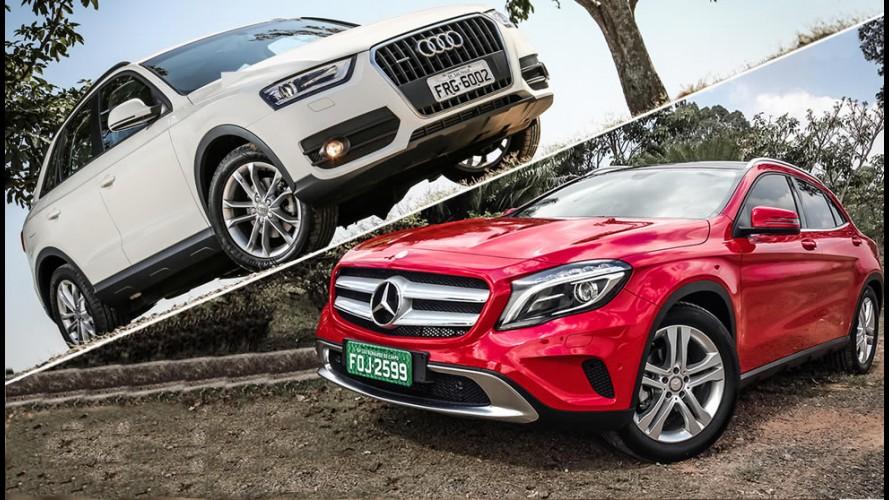 Tira-teima: Audi Q3 ou Mercedes GLA - qual o melhor dos futuros crossovers nacionais?