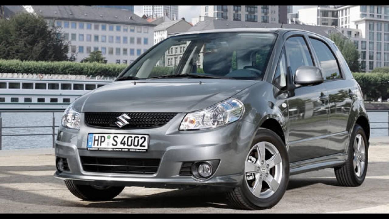 Suzuki anuncia Recall do hatch SX4 no Brasil
