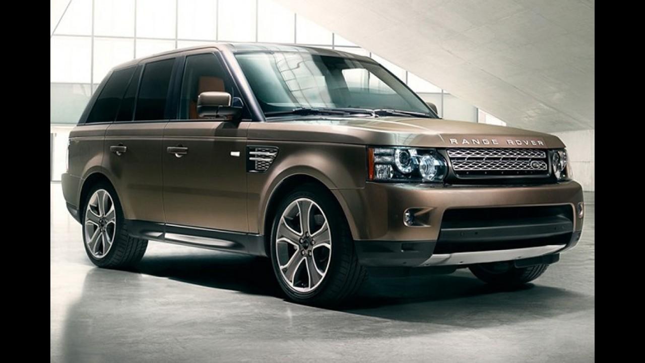 Land Rover: Range Rover Sport e Discovery 4 ganham câmbio automático do oito marchas