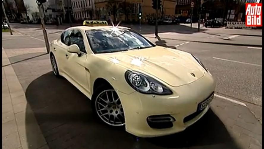 Está com pressa? Porsche Panamera Turbo vira táxi na Alemanha
