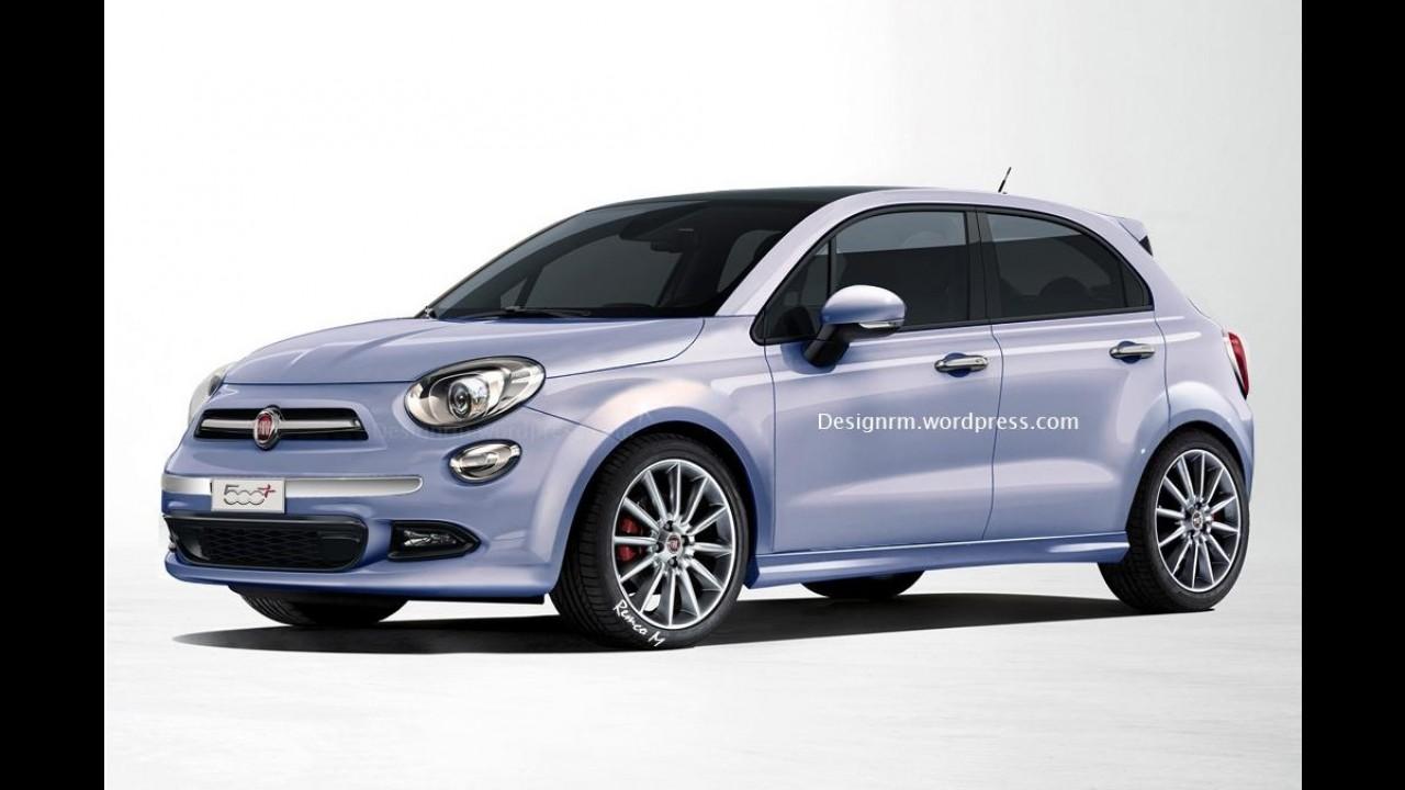 Fiat 500 Plus: projeção antecipa visual do sucessor do Punto - confira