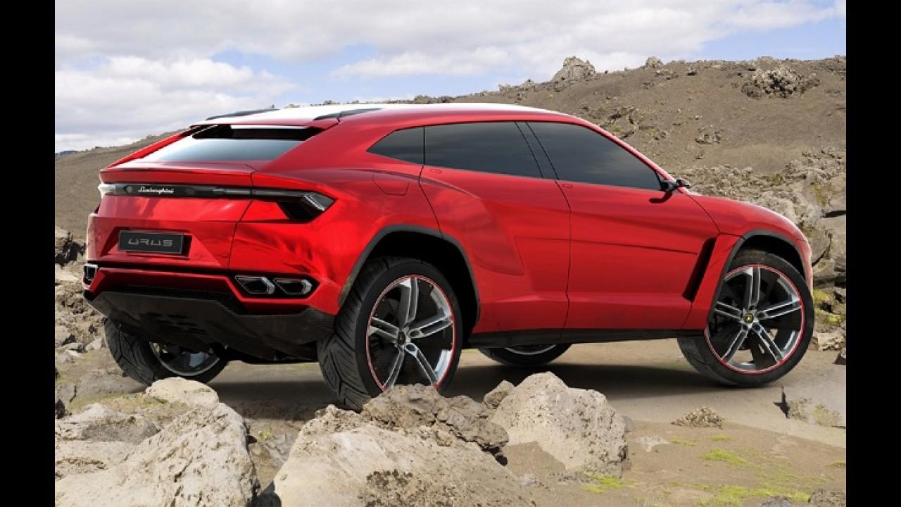 CEO da Lamborghini confirma que SUV Urus está a caminho