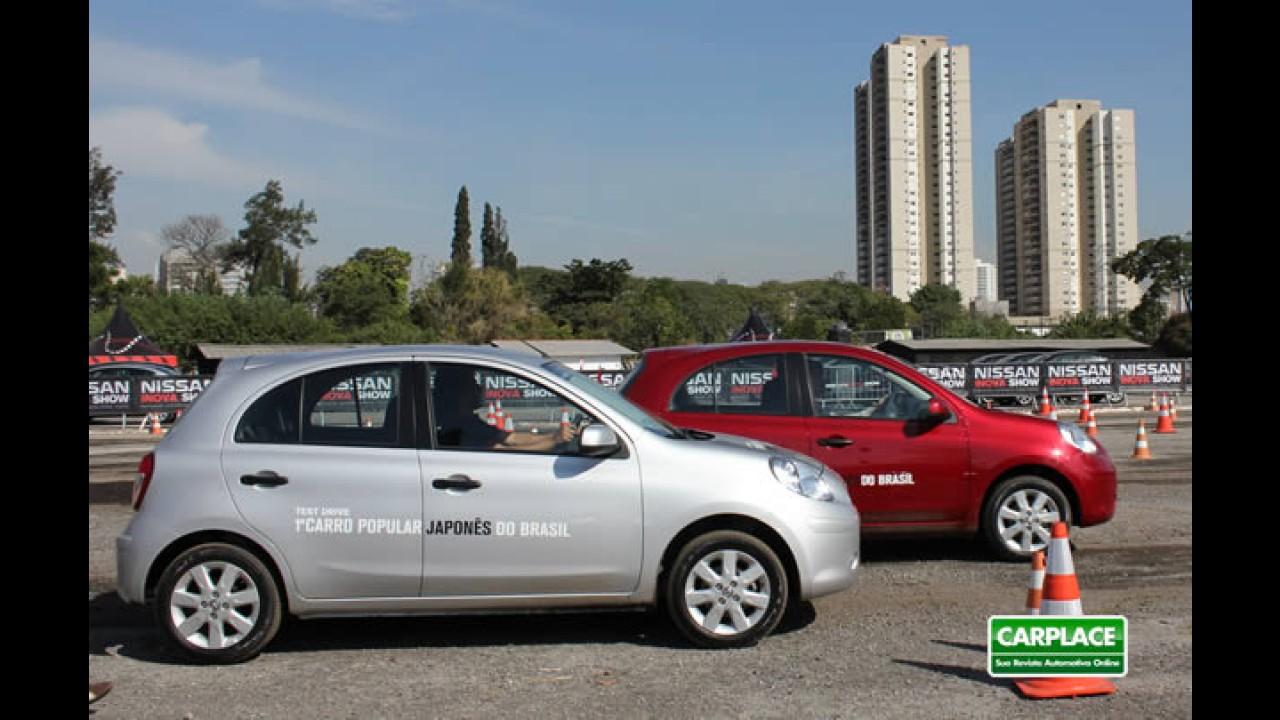 Nissan March pode chegar ao mercado com duplo airbag e direção elétrica de série por R$ 26.000
