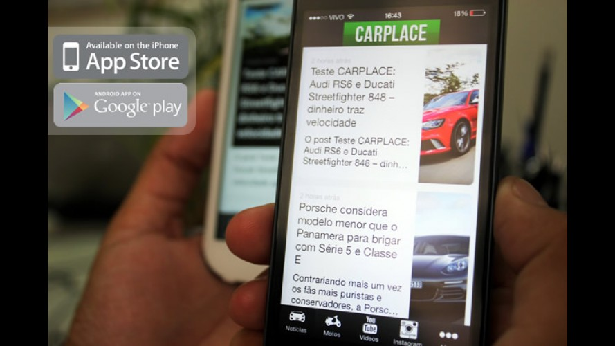 CARPLACE lança aplicativos para smartphones iOS e Android