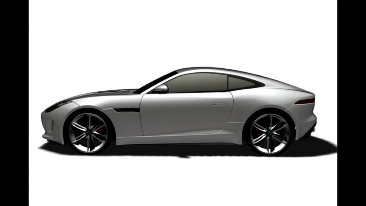 Imagens de patentes vazadas revelam o Jaguar F-Type Coupé