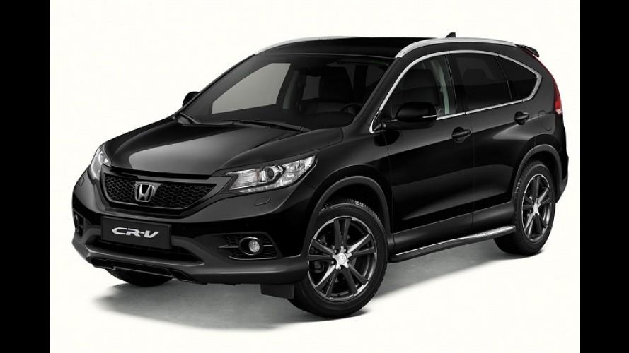 Honda CR-V ganha série especial Black Edition na Holanda