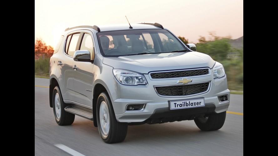 Chevrolet divulga nova leva de imagens da Trailblazer para mercados internacionais