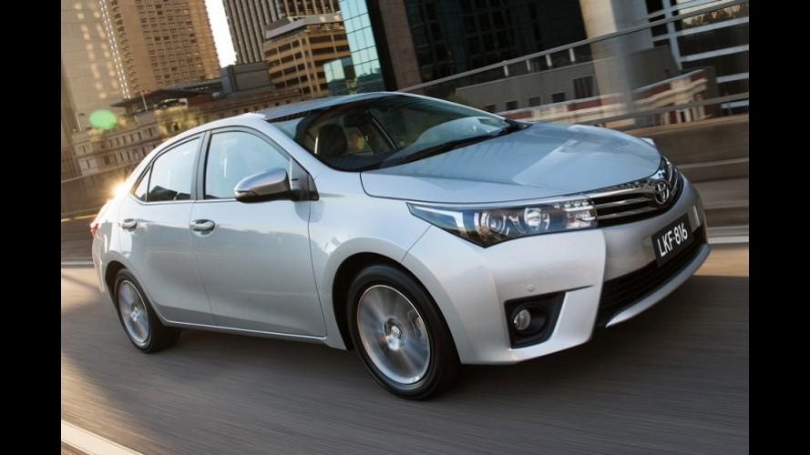 Toyota Corolla brasileiro estreia no Uruguai a partir de R$ 119.500