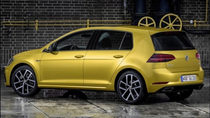 Volkswagen Golf, ora anche a metano