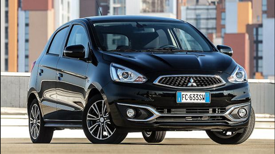 Mitsubishi Space Star, col restyling cambia volto