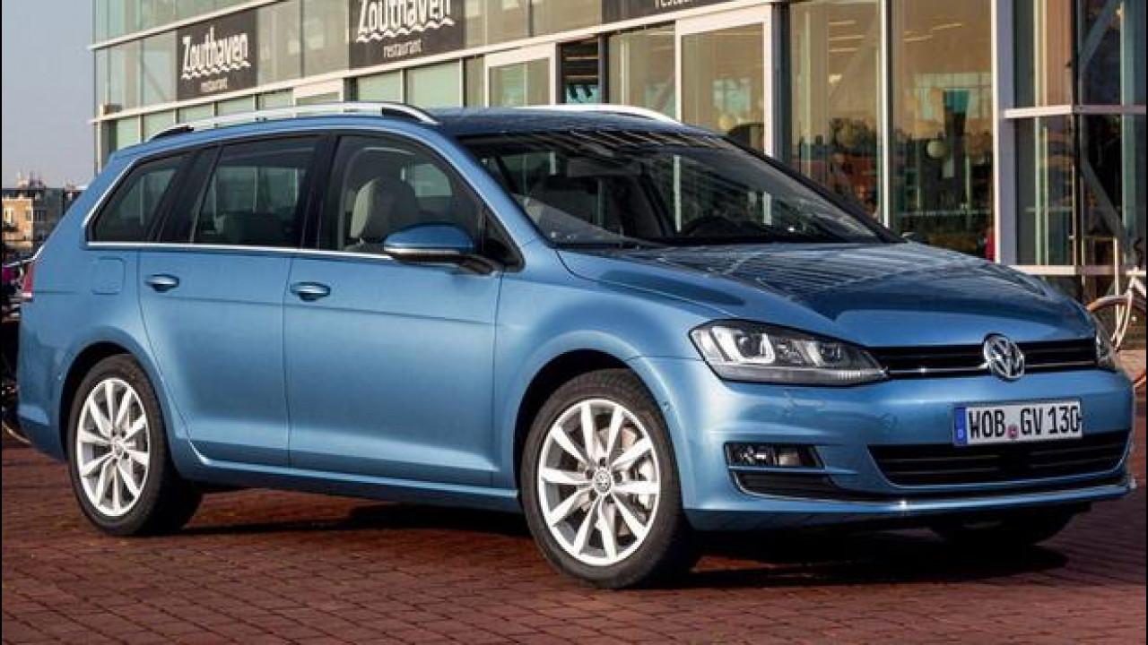 [Copertina] - Volkswagen Golf Variant TGI BlueMotion