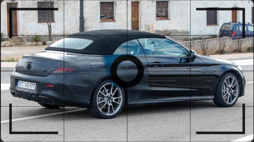 Mercedes Classe C Cabrio, foto spia firmate AMG