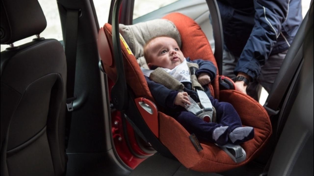 [Copertina] - Bambini in auto, 6 italiani su 10 li trasportano male