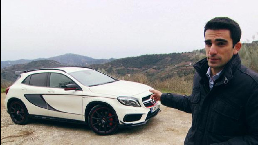 Mercedes GLA 45 AMG, la prova del super crossover [VIDEO]
