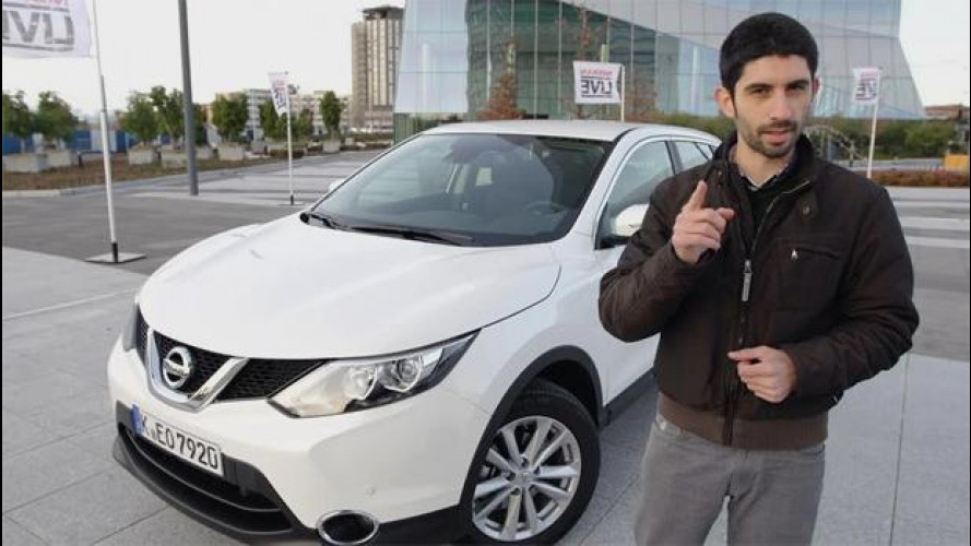 Nissan Qashqai, la prova di più auto... in una [VIDEO]