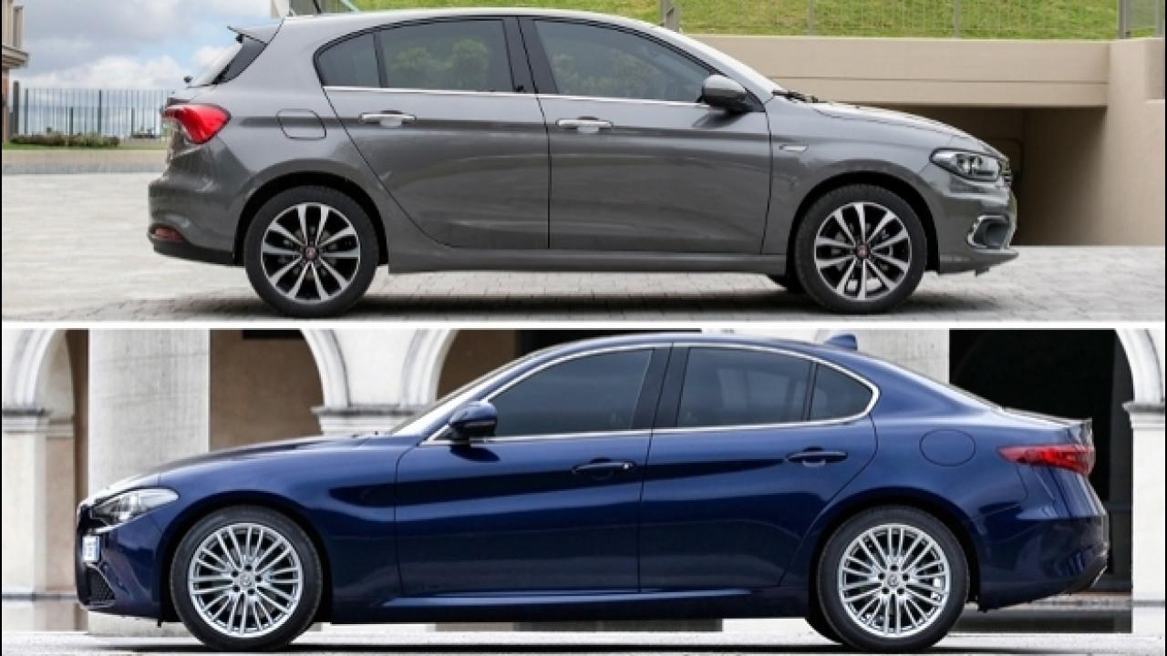 [Copertina] - Alfa Giulia e Fiat Tipo, ecco quanto vendono in Italia