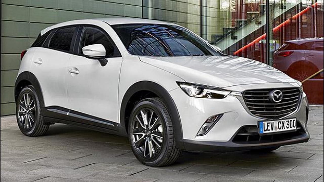 [Copertina] - Mazda CX-3, tutti i prezzi e le concorrenti