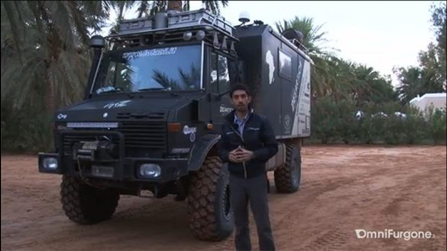 Originale test nel deserto: ecco come va un Unimog [VIDEO]