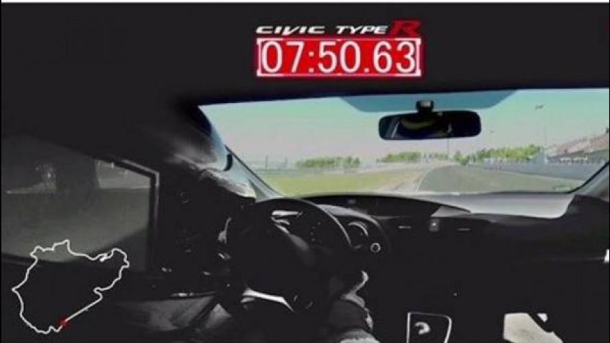 Honda Civic Type R, super record al Nurburgring