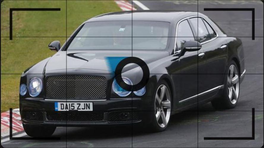 Bentley Mulsanne, foto spia del leggero restyling
