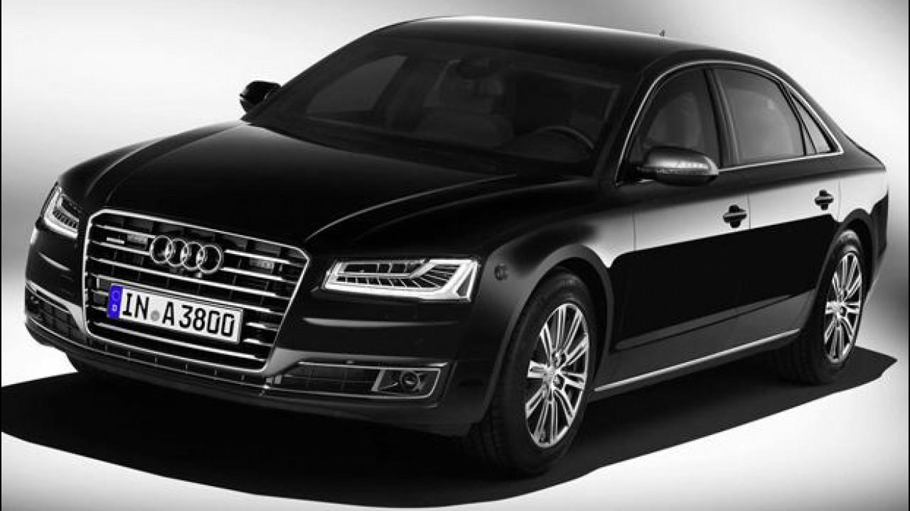 [Copertina] - Audi A8 L Security, sicurezza a prova di bomba