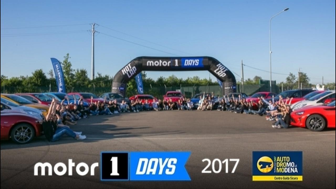 [Copertina] - Motor1Days, la nostra festa siete Voi