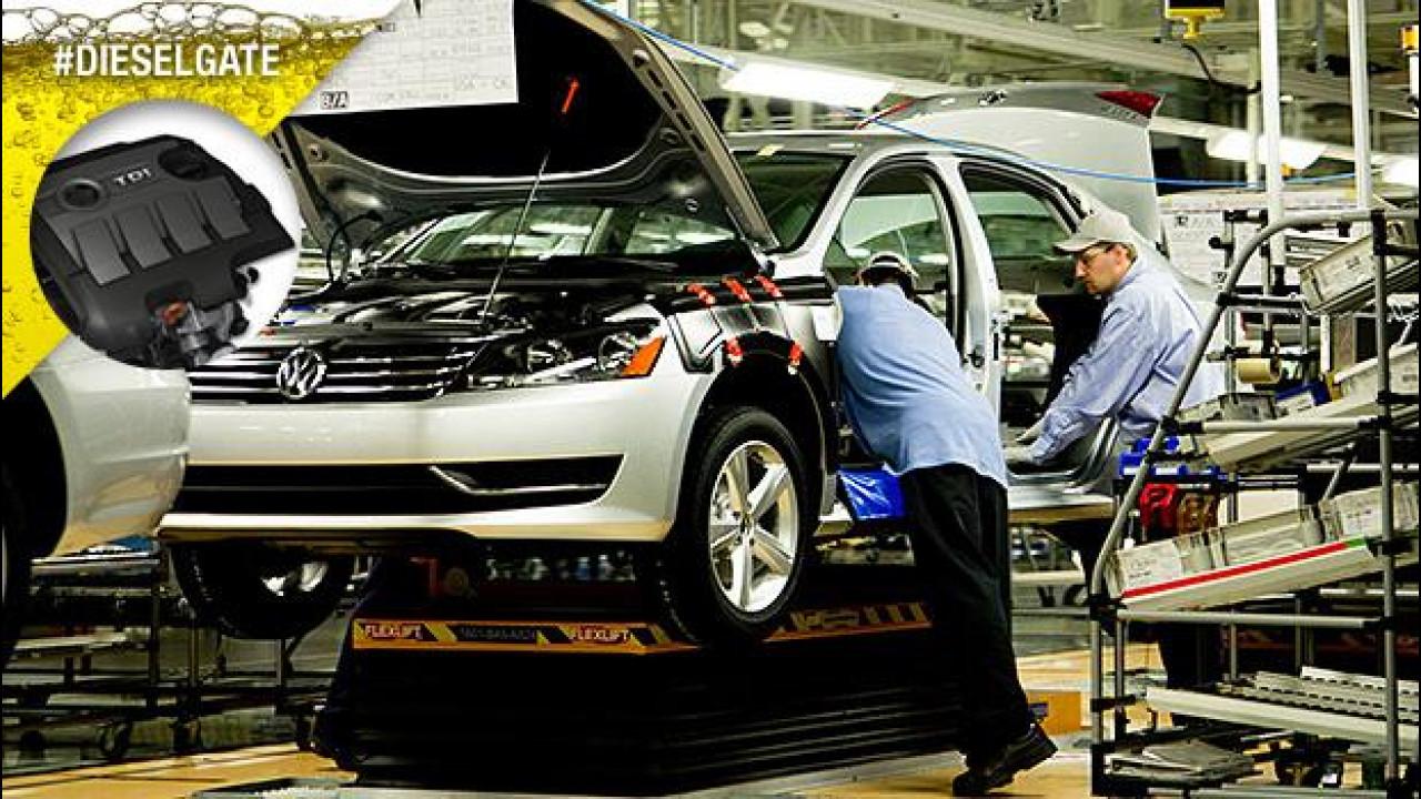 [Copertina] - Volkswagen crolla in borsa dopo le accuse di consumi truccati