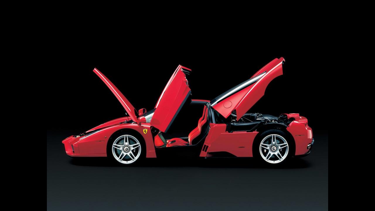 Ferrari Enzo, le foto storiche