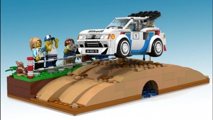 Peugeot 205 Turbo 16 in mattoncini, la proposta su Lego Ideas