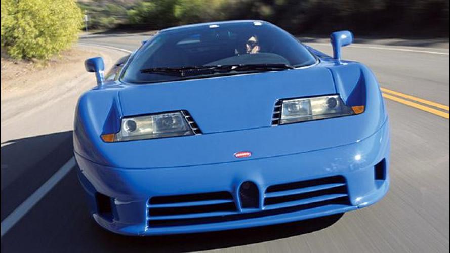 Bugatti EB110, genio incompreso
