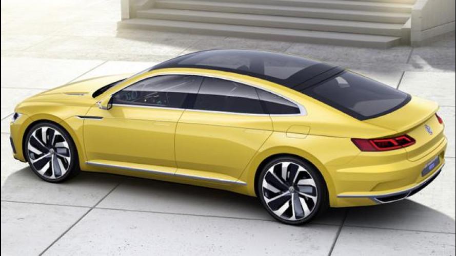 Volkswagen Sport Coupé Concept GTE, il nuovo lusso tedesco