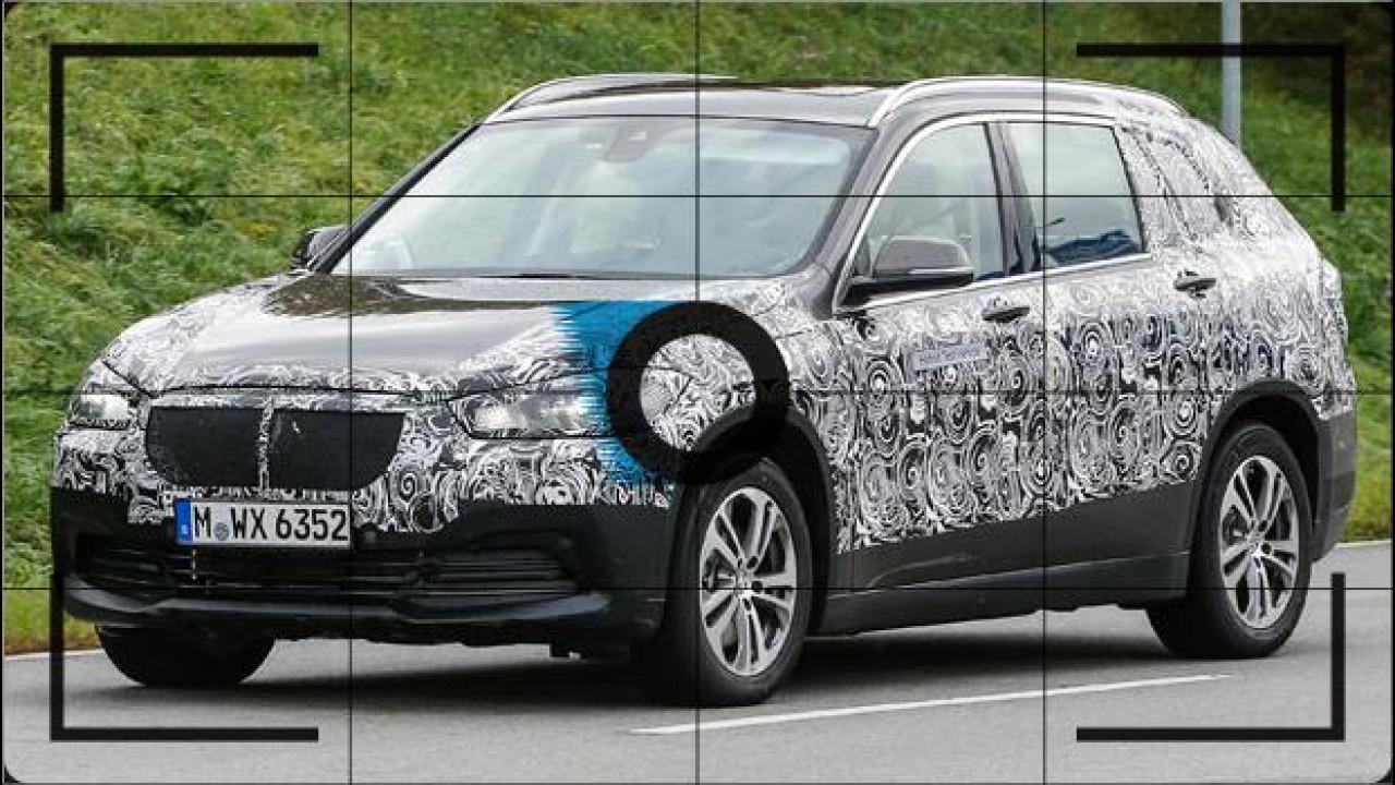 [Copertina] - BMW Grand X1 o X2, foto spia del nuovo crossover 7 posti