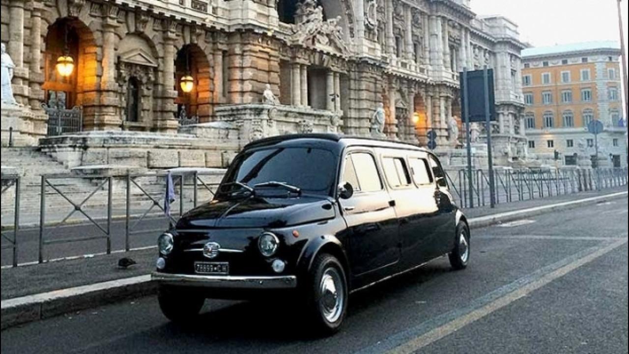 [Copertina] - All'asta la 500 Limousine di Zoolander 2