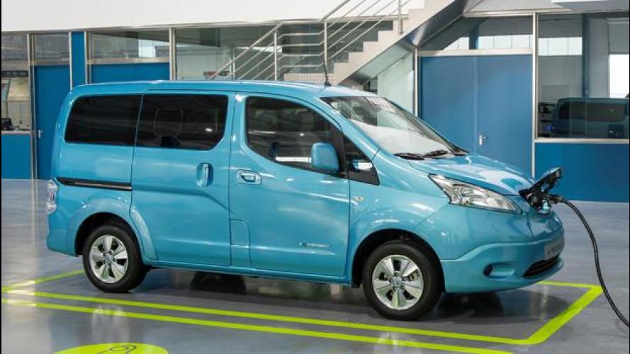 Nissan e-NV200 Evalia, la Leaf per famiglie numerose