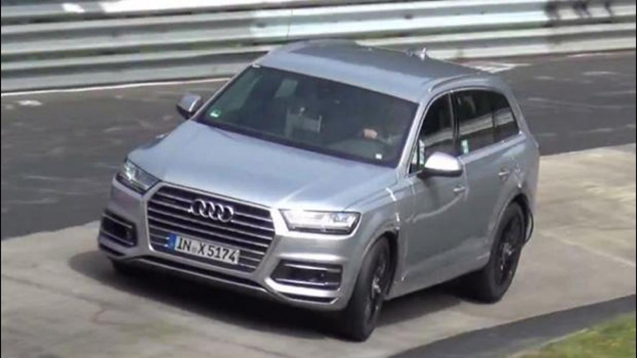 [Copertina] - Audi, la SQ7 a muro al Nurburgring