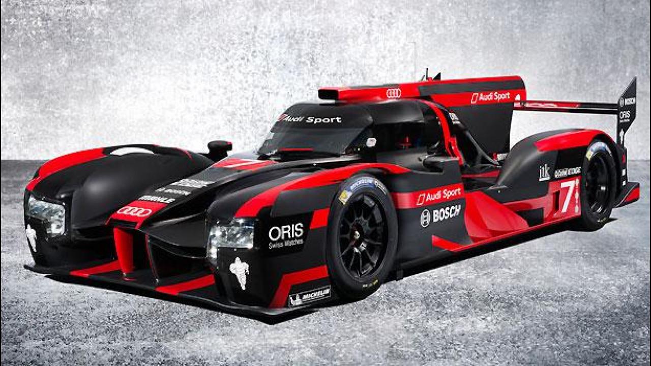 [Copertina] - Audi R18, ibrida e pronta per Le Mans 2016
