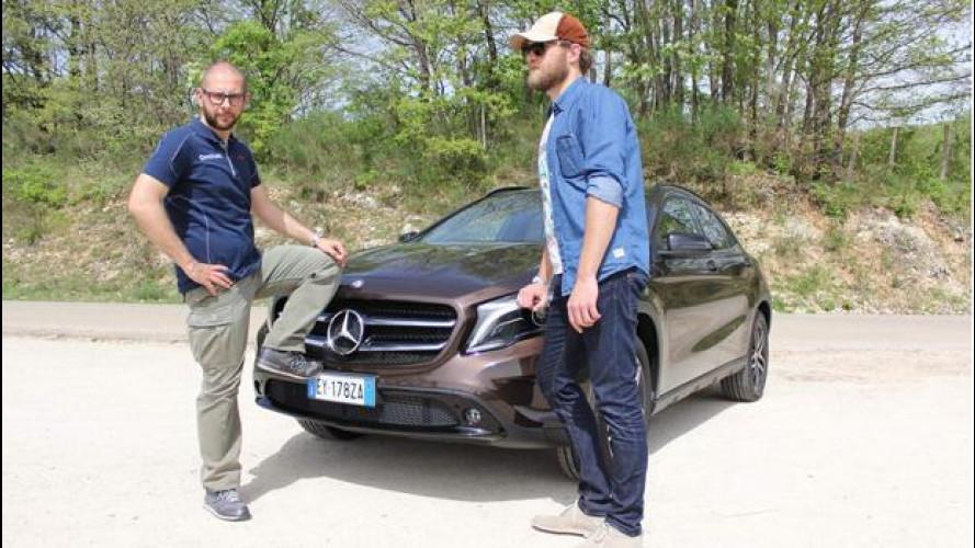 Mercedes GLA Challenge, pronti, partenza, via! [VIDEO]