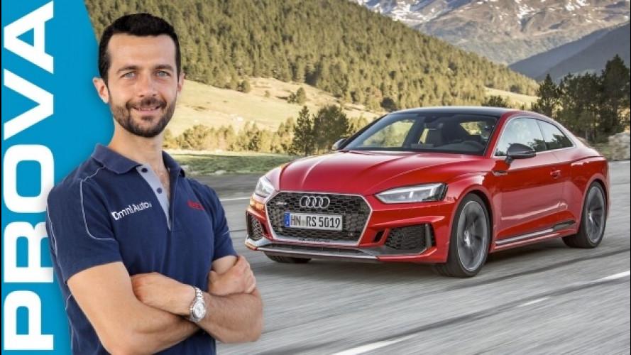 """Audi RS5, anche lei si """"turba"""". E diverte di più [VIDEO]"""