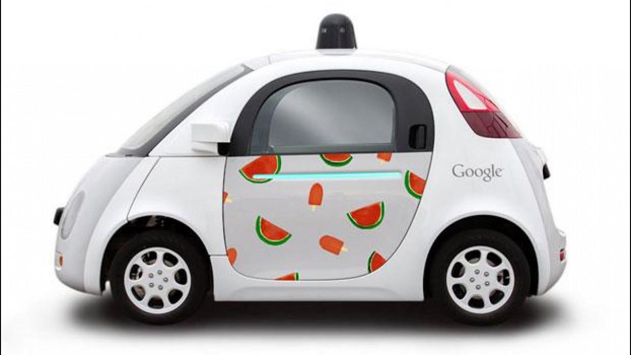 [Copertina] - Google Car, 10 le disegnano gli artisti