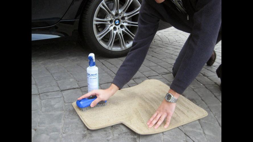 Come pulire l'abitacolo dell'auto, cinque