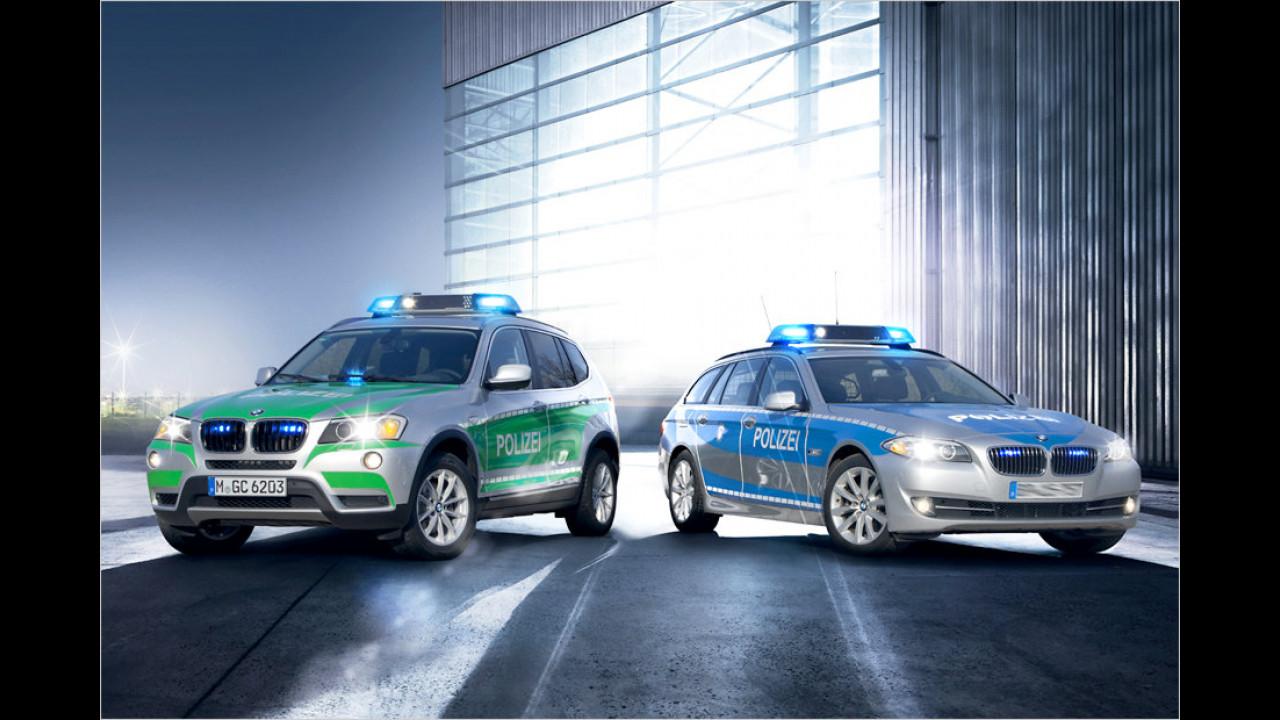 BMW X3 und BMW 5er Touring (2012)
