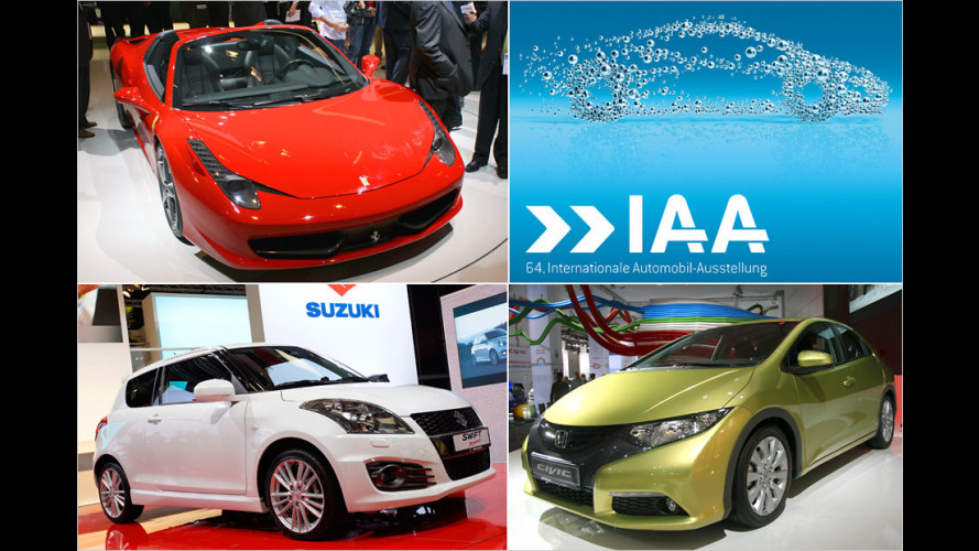 IAA 2011: Die internationalen Neuheiten