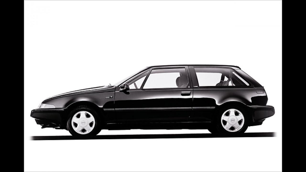 Schwedische Kante: Volvo mischte mit dem 480 den Kompaktwagen-Markt auf – 1986 war der Wagen in Genf dabei