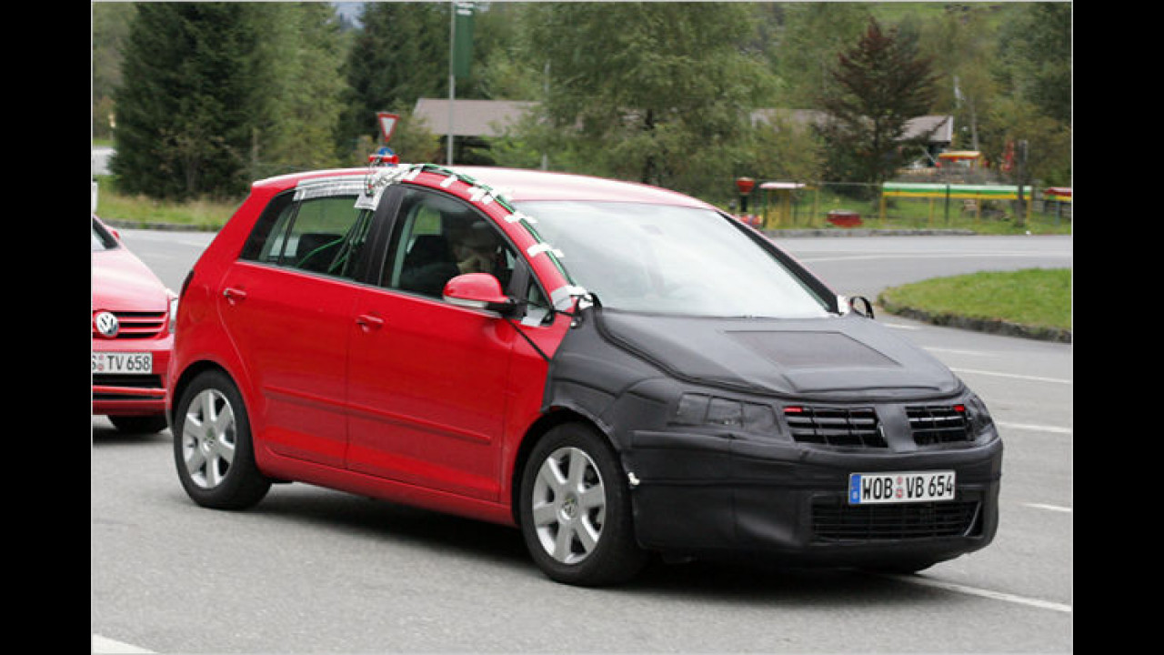 VW Golf Plus Facelift